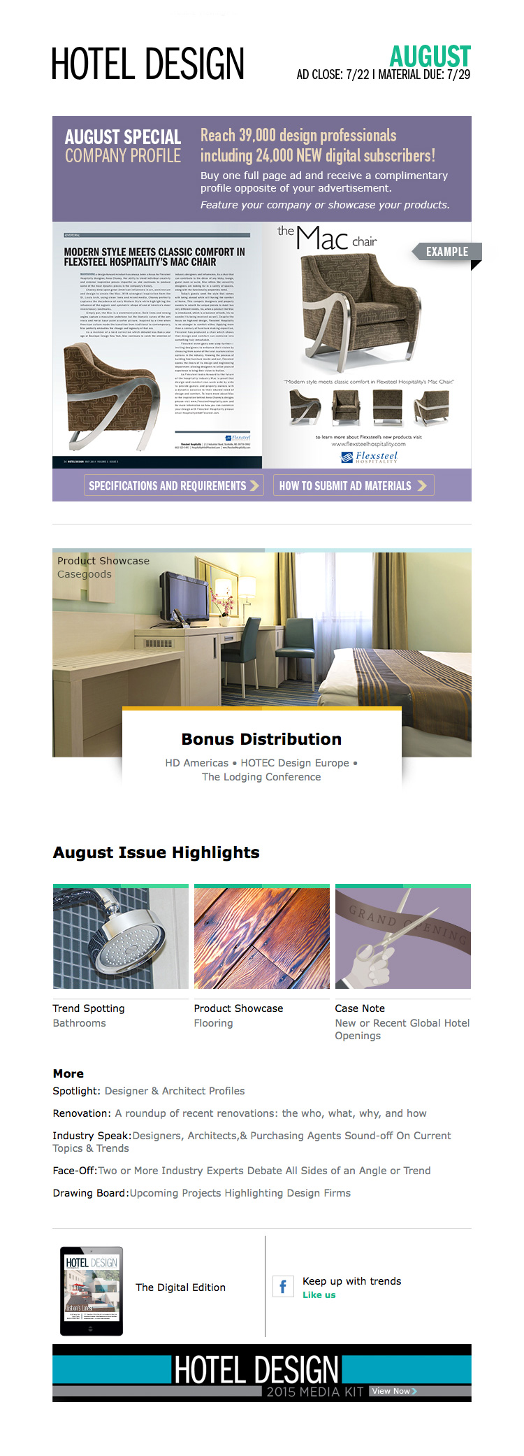 Hotel Design Email