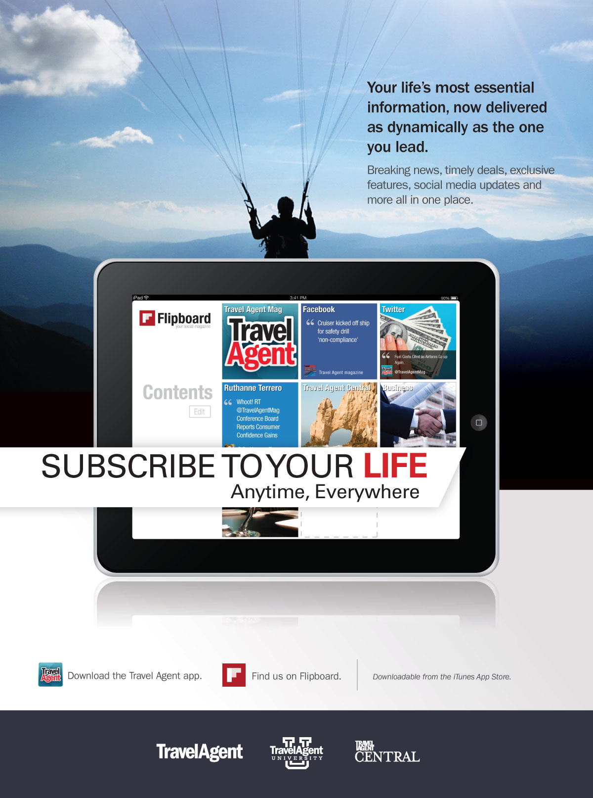 Subscribe to Your Life- Parachute