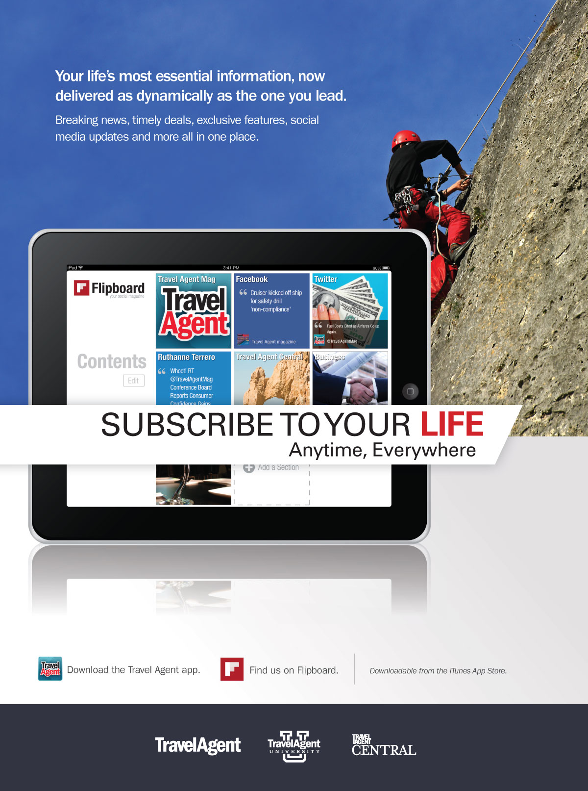Subscribe to Your Life- Mountain