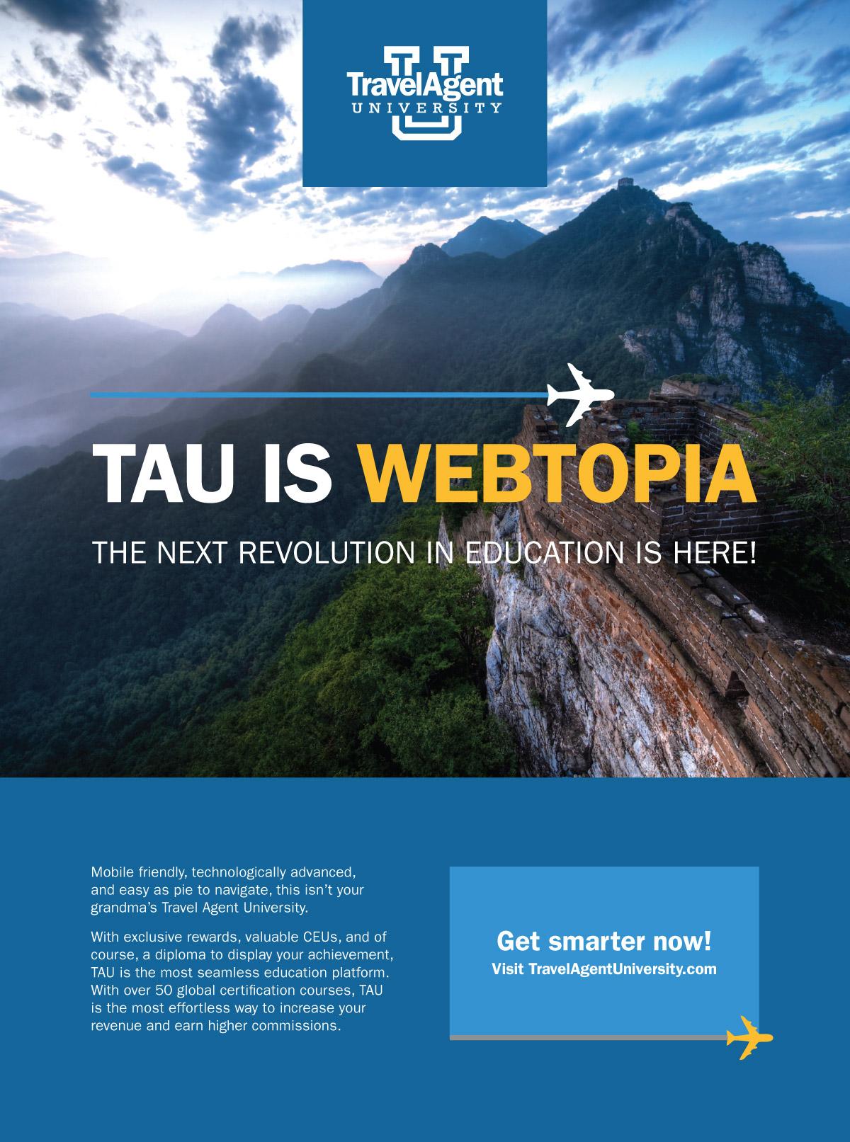 Travel Agent University Ad
